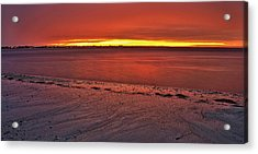 Sunset Over Anna Maria Island Acrylic Print by Jim Dohms