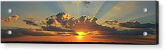 Sunset Over Austin Acrylic Print