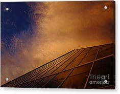 Sunset Over Bass Pro Shop In Memphis Tennessee Acrylic Print