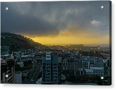 Sunset Over Cape Town Acrylic Print