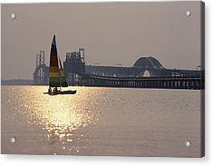 Sunset Over Chesapeake Acrylic Print