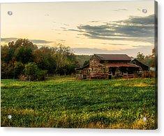 Sunset Over Dogwood Ridge Acrylic Print