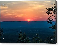 Sunset Over Easthampton Acrylic Print