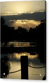 Sunset Over Henderson Acrylic Print by Tom Buchanan