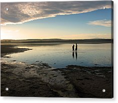 Acrylic Print featuring the photograph Sunset Over Kabeljauws by Riana Van Staden