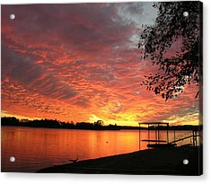 Sunset Over Lake Murray Acrylic Print