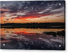 Sunset Over Little Sugarloaf Acrylic Print
