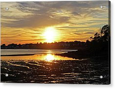 Sunset Over Lynch Park Beverly Ma Acrylic Print