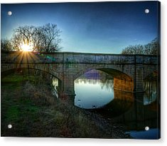 Sunset Over Monocacy Acrylic Print