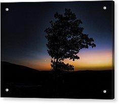 Acrylic Print featuring the photograph Sunset Over Pennsylvania by Maciek Froncisz