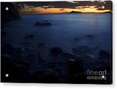 Sunset Over Portlock II Acrylic Print