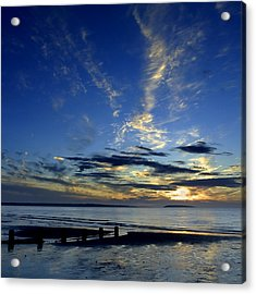 Sunset Over Puffin Island Acrylic Print by Peter OReilly
