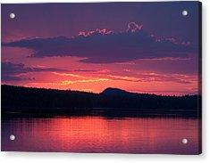 Sunset Over Sabao Acrylic Print