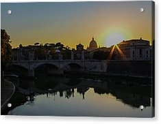 Sunset Over St Peters Acrylic Print
