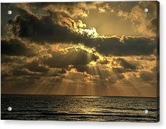 Sunset Over The Mediterranean 5 Acrylic Print