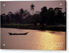 Sunset Over The Perfume River Acrylic Print by Sami Sarkis