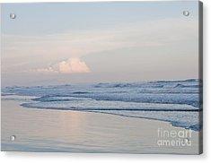Sunset Over The Sea El Salvador 3 Acrylic Print