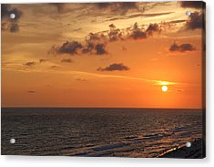 Sunset Panama City Florida Acrylic Print