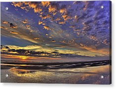 Sunset Paradise  Acrylic Print by Tyra  OBryant