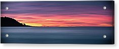 Acrylic Print featuring the photograph Sunset Penisular, Bunker Bay by Dave Catley