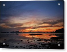 Sunset Pi Acrylic Print