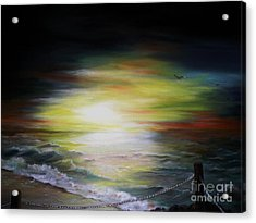 Sunset Point Acrylic Print