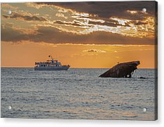 Sunset Point - Cape May Acrylic Print