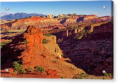 Sunset Point View Acrylic Print