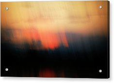 Acrylic Print featuring the photograph Sunset Raining Down by Marilyn Hunt