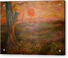 Sunset Rev. Acrylic Print by Joseph Sandora Jr