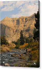 Acrylic Print featuring the photograph Sunset River by Robert Pearson