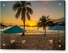 Sunset Secret Harbor Acrylic Print