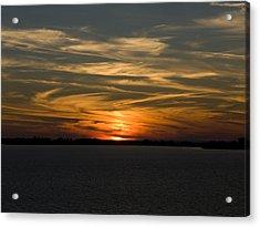 Sunset Sky Acrylic Print by Phil Stone