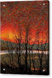 Sunset Soliloquy Acrylic Print