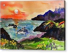 Sunset Sonoma Coast  Acrylic Print