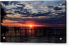 Sunset - South Carolina Acrylic Print