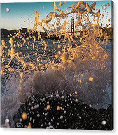 Sunset Splash Acrylic Print