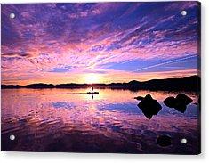 Sunset Supper Acrylic Print