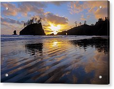 Acrylic Print featuring the photograph Sunset Symphony by Mike Lang