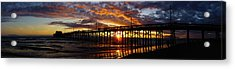 Acrylic Print featuring the photograph Sunset  by Thanh Thuy Nguyen