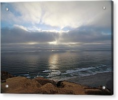 Sunset Torrey Pines Number One Acrylic Print