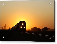 Sunset Express Acrylic Print