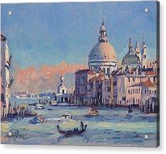 Sunset Venice Acrylic Print