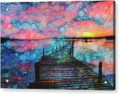 Sunset View Acrylic Print by Jack Zulli
