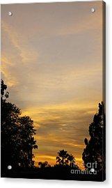 Sunset Acrylic Print by Viktor Savchenko