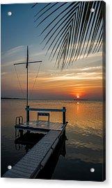 Sunset Villa Acrylic Print