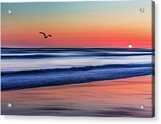 Sunset Widemouth Bay  Acrylic Print
