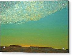 Sunset With Alto Cumulous Acrylic Print