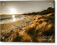 Sunsets And Tasmanian Seas Acrylic Print by Jorgo Photography - Wall Art Gallery