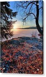 Sunsets Creates Magic Acrylic Print
